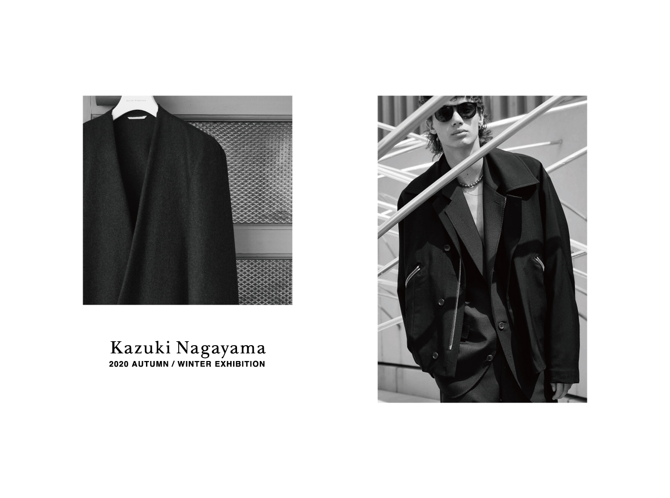 Kazuki Nagayama 2020 AUTUMN/WINTER EXHIBITION