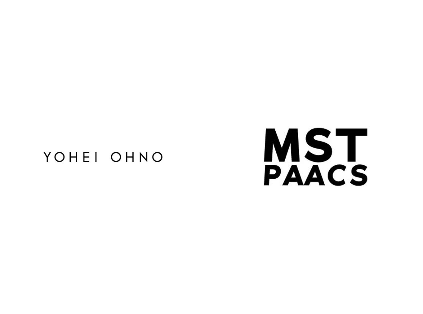 YOHEI OHNO / MST PAACS  SPRING 2021 COLLECTION